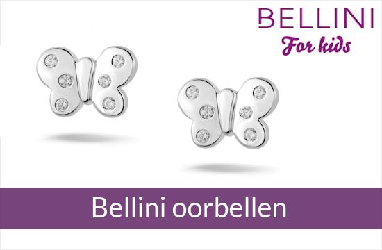 Bellini for kids - zilveren kinderoorbellen