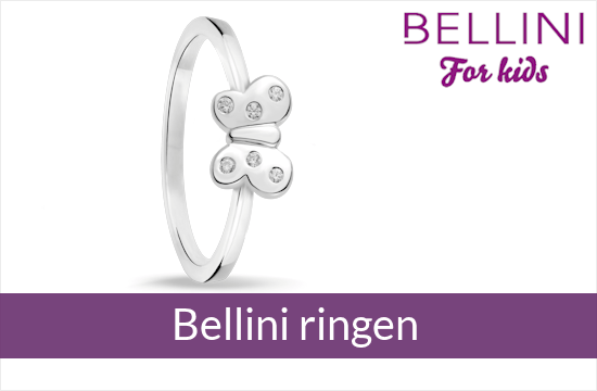 Bellini for kids - zilveren kinderringen