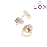 LOX oorbellen sluiting
