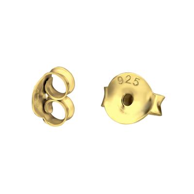 Achterkantjes goud (verguld)