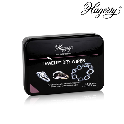 Hagerty - JEWELRY DRY WIPES