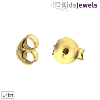 Achterkantjes goud (14krt)