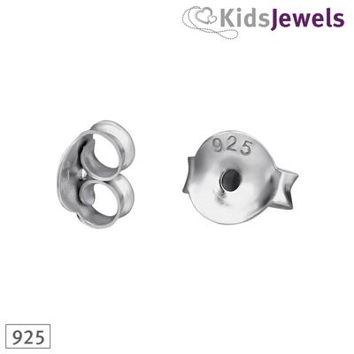 Achterkantjes zilver - 925