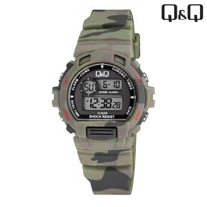Q&Q - M153J008 kinderhorloge camouflage groen