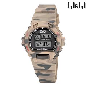 Q&Q - M153J010 kinderhorloge camouflage beige