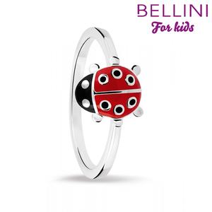 Bellini 579.005 - Zilveren Bellini ring met gekleurd emaille lieveheersbeestje