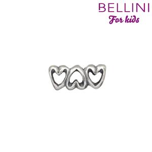 Bellini 562.057 - Zilveren Bellini bedel langwerpig harten