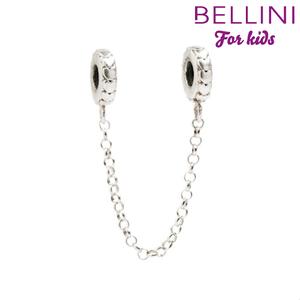 Bellini 569.050 Zilveren Bellini veiligheidsstopper met hartjes