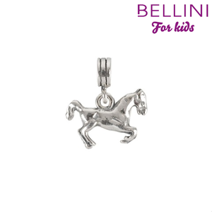 Bellini 568.008 -Zilveren Bellini bedel hangend paard