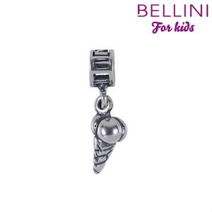 Bellini 568.012 -Zilveren Bellini bedel hangend ijsje