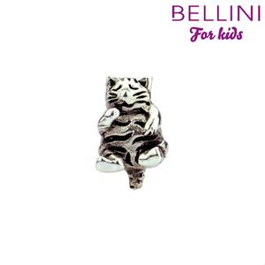 Bellini 562.408 - zilveren bedel poes