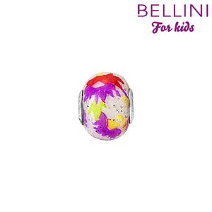 Bellini 561.511 - glasbedel glitter groen/geel/wit/roze