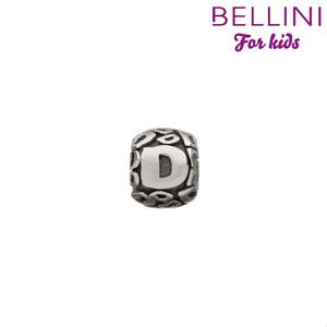 Bellini 560.D - zilveren bedel letter D