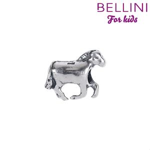 Bellini 562.075 - zilveren bedel paard