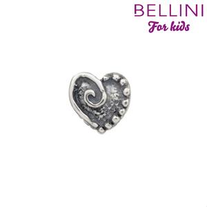 Bellini 562.016 - Zilveren Bellini bedel hartje