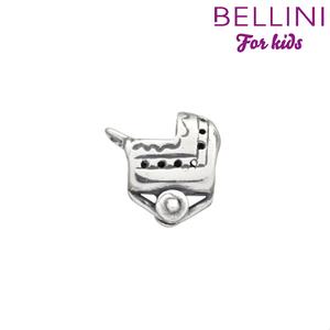 Bellini 562.045 - Zilveren Bellini bedel kinderwagen