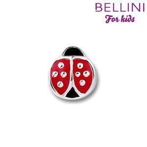 Bellini 567.400 - zilveren bedel met emaille lieveheersbeestje