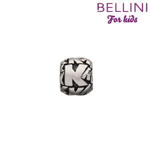 Bellini 560.K - zilveren bedel letter K