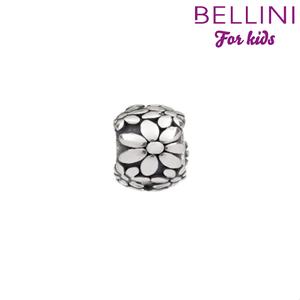 Bellini 562.035 - Zilveren Bellini bedel bloemen