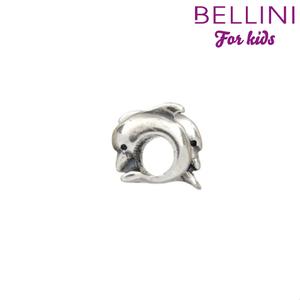 Bellini 562.003 - zilveren bedel met 2 dolfijnen