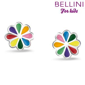 Bellini 575.023 - zilveren kinder oorbellen hartje