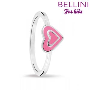 Bellini 579.004 - Zilveren kinderring hartje