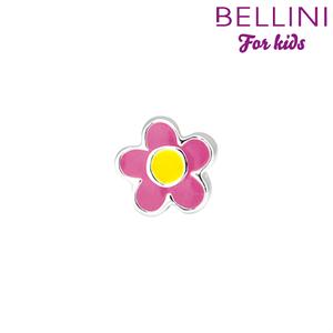 Bellini 567.415 - zilveren bedel bloem emaille