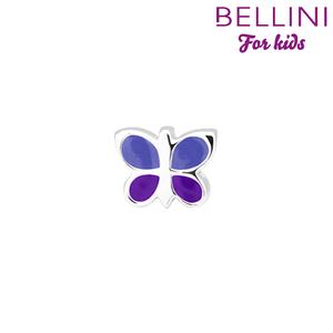Bellini 567.414 - zilveren bedel vlinder emaille