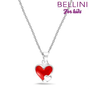 Bellini 574.019 - zilveren kinder collier met hanger hartje
