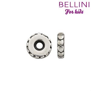 Bellini 569.005 Zilveren Bellini stopper hartjes