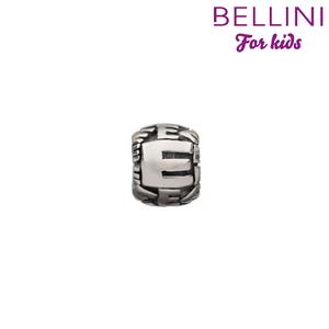 Bellini 560.E - zilveren bedel letter E