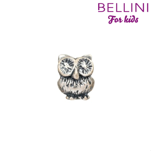 Bellini 562.005 - zilveren bedel uil