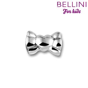 Bellini 562.400 - Zilveren Bellini bedel strik met hart
