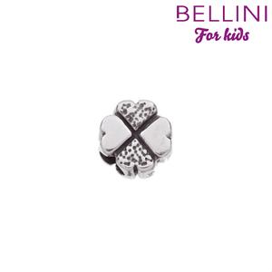 Bellini 562.002 - Zilveren Bellini bedel klavertje vier
