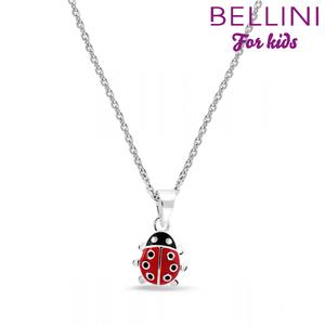 Bellini 574.005  - zilveren kinder collier met hanger lieveheersbeestje