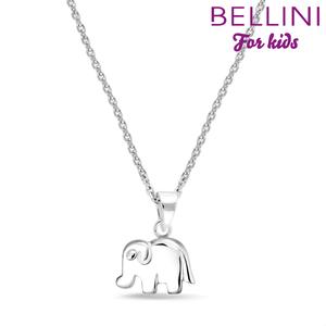 Bellini 574.016 - zilveren kinder collier met hanger olifant