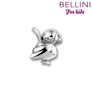 Bellini 562.405 - zilveren bedel vogel
