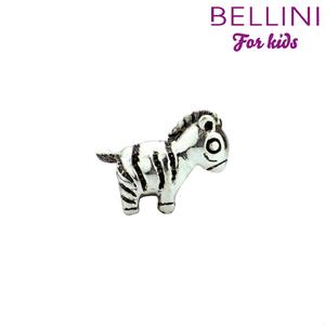 Bellini 562.409 - zilveren bedel zebra