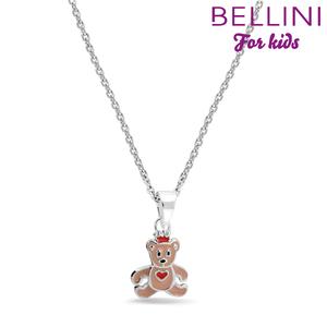 Bellini 574.006 - zilveren kinder collier met hanger beertje