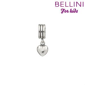 Bellini 568.006 -Zilveren Bellini bedel hangend hartje