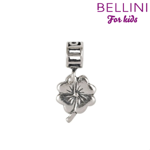 Bellini 562.054 -Zilveren Bellini bedel hangend klavertje