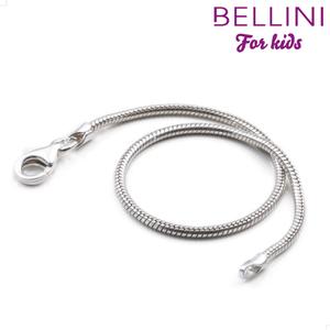 Bellini 166.001 Zilveren slangschakel collier  voor Bellini bedels (38cm)